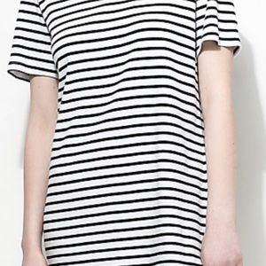 OBEY Black and white dress